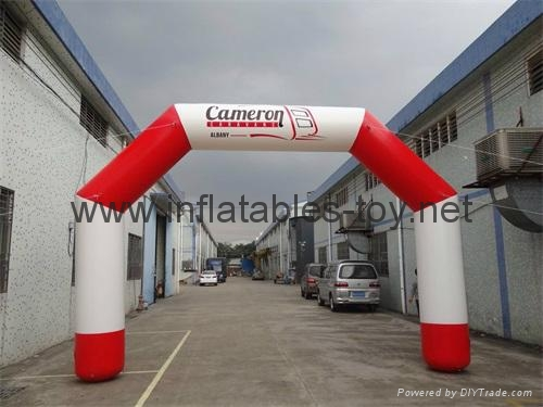 Outdoor Inflatable Sports Arch, Waterproof Finish Line Arches 1