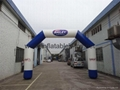 Outdoor Inflatable Sports Arch, Waterproof Finish Line Arches 4