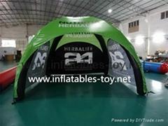 Full Color Digital Printing Inflatable X-gloo Tent