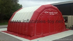 Car Painting Workstation Inflatable Tent, Inflatable Car Shelter Tent