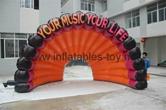 Inflatable SatgeTent,Air