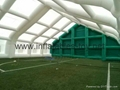 Inflatable Airtight Tunnel Tent