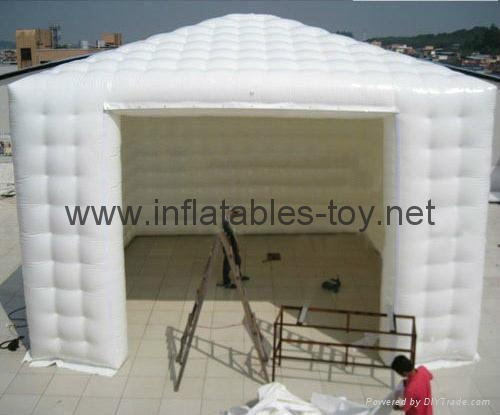 Inflatable Exhibition Tent, Airtight Tent Inflatable Cube Tradeshow Tent 7