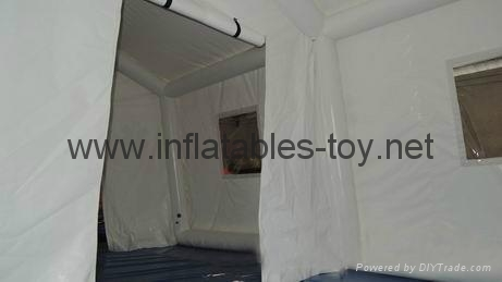 Airtight Inflatable Tent for Red Cross