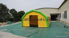 Mobile Inflatable Army Tent