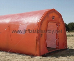 Inflatable Emergency Tent , Airtight Inflatable Rescue Tents