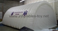 Sealed Inflatable Temporary Structures Tent, Inflatable Tunnel Tent for Garage  2
