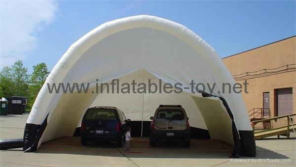 Sealed Inflatable Temporary Structures Tent, Inflatable Tunnel Tent for Garage  3