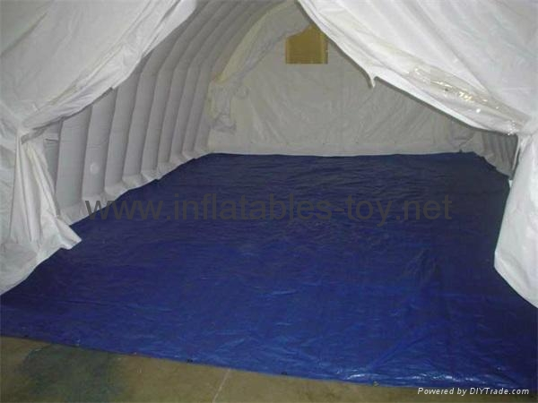 Sealed Inflatable Temporary Structures Tent, Inflatable Tunnel Tent for Garage  6
