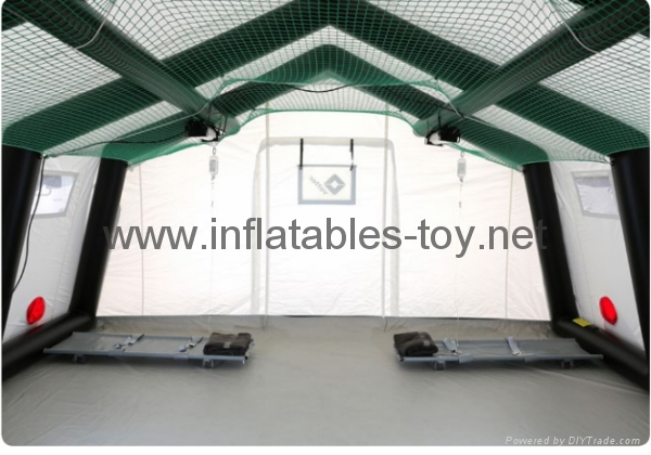 large Inflatable Mobile hospitals , PVCfabric Inflatable Shelters 4