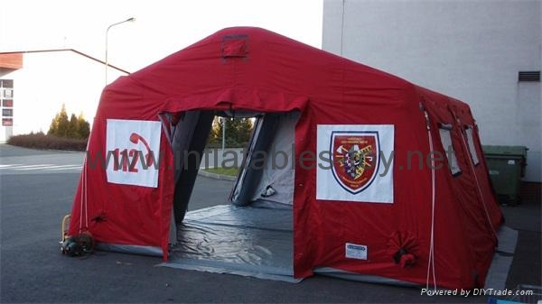 Inflatable relief tent, Inflatable red cross tents, Inflatable disaster tent 1
