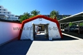 Inflatable relief tent, Inflatable red cross tents, Inflatable disaster tent 2