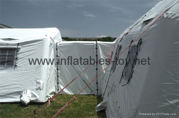 Large inflatable shelters  for emergency response,Inflatable military tent, 2