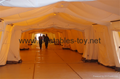 Large inflatable shelters  for emergency response,Inflatable military tent, 4