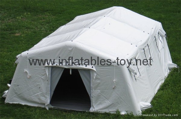 Large inflatable shelters  for emergency response,Inflatable military tent, 1