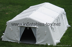 Large inflatable shelter