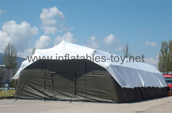 Inflatable Military Tents and Temporary Structures for Emergency  2