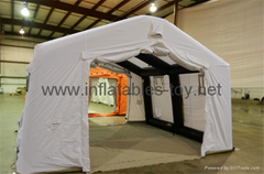 Lightweight inflatable shelters,Inflatable military tent for military