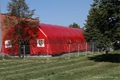 Outdoor Inflatable Military Tent, Inflatable Structure Tent , Red Cross tent 2