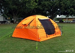 Cheap PVC fabric Inflatable Camping Tent