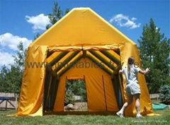 Large Inflatable Mobile hospitals for refugee,Inflatable Temporary tent