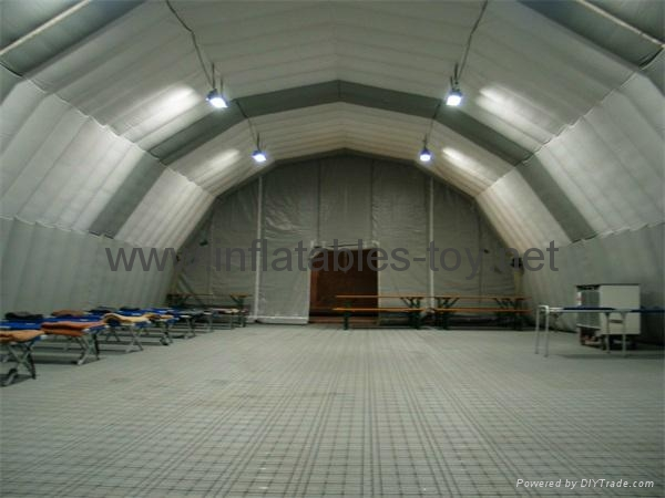 Airtight Inflatable Archway Tent for Emergency, Waterproof Airsealed Tent 8