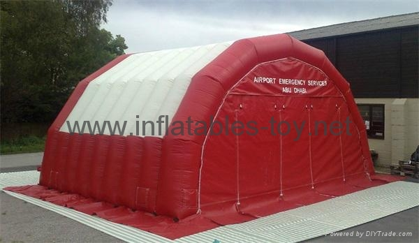 Airtight Inflatable Archway Tent for Emergency, Waterproof Airsealed Tent 5