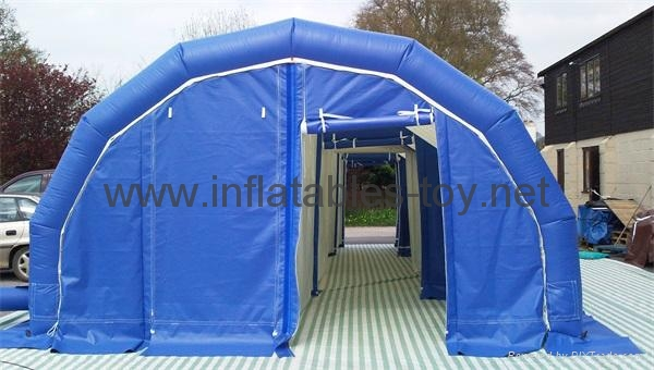 Airtight Inflatable Archway Tent for Emergency, Waterproof Airsealed Tent 6