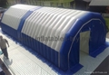 Airtight Inflatable Archway Tent for Emergency, Waterproof Airsealed Tent 4