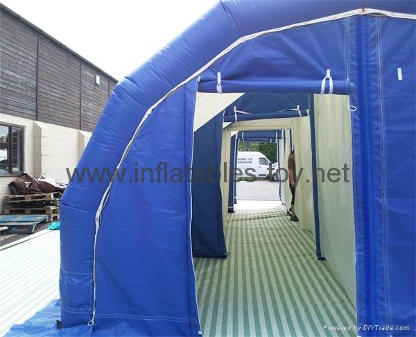 Airtight Inflatable Archway Tent for Emergency, Waterproof Airsealed Tent 9