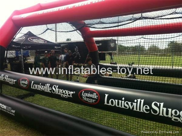 Inflatable Batting Cages, Inflatable Sport Tent For Baseball  3