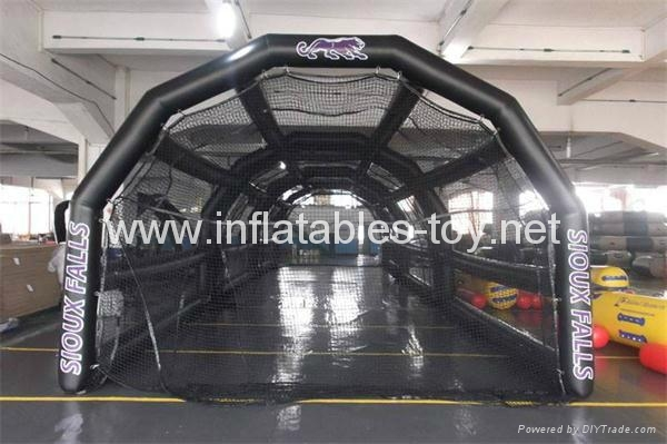 Inflatable Baseball Batting Cage For Practice In Indoor Sports Gym Outdoor Park 1
