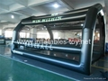 Inflatable Baseball Batting Cage For Practice In Indoor Sports Gym Outdoor Park 4