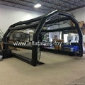 Inflatable Baseball Batting Cage For Practice In Indoor Sports Gym Outdoor Park 3