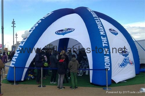 Inflatable Spider Dome Tents, Advertising Dome Tent 2
