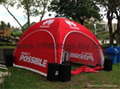 Outdoor Canopy Inflatable Spider Tent For Events 3