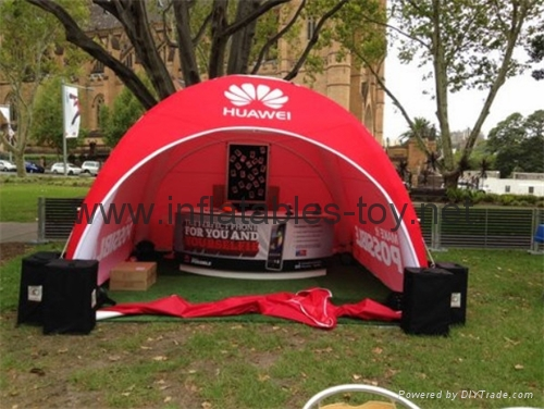 Outdoor Canopy Inflatable Spider Tent For Events 1