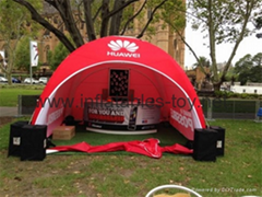 Outdoor Canopy Inflatable Spider Tent For Events
