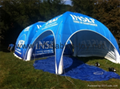 Outdoor Canopy Inflatable Spider Tent For Events 4