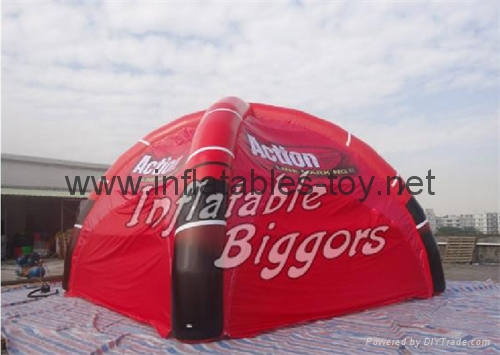 Outdoor Canopy Inflatable Spider Tent For Events 7