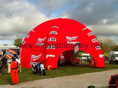 Big Inflatable Spider Air Dome Tents For Advertising 7