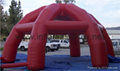 Big Inflatable Spider Air Dome Tents For Advertising 10