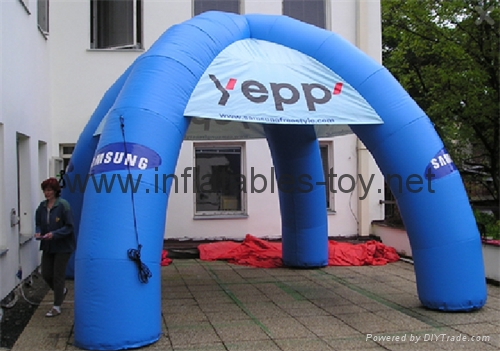Big Inflatable Spider Air Dome Tents For Advertising 11