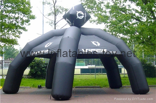Big Inflatable Spider Air Dome Tents For Advertising 3