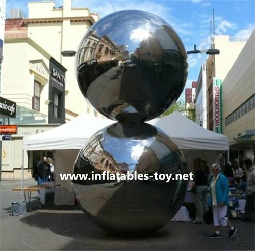 Outdoor Advertising Mirror Balls