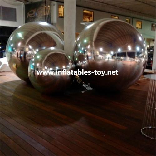 Silver Mirrorr Advertising Balloons
