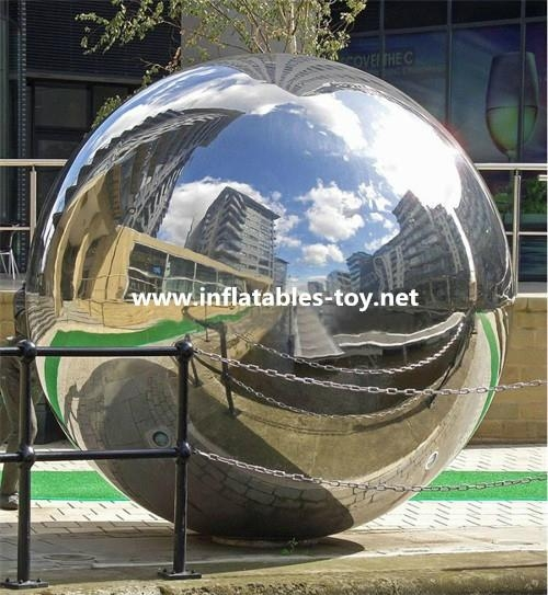 Large Mirrorr Ball Inflatable Advertising Balloons