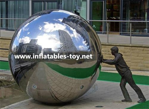 Stage Party Decoration Mirror Inflatable Ball