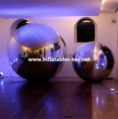 Inflatable Decorative Mirror Balls, Fashion Show Silver Balloon (Hot Product - 1*)