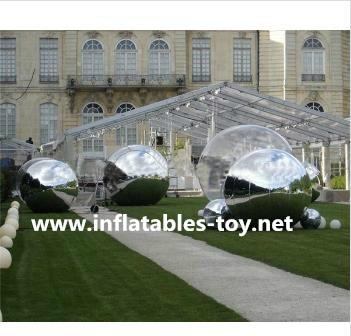 New Inflatable Mirror Ball for Display